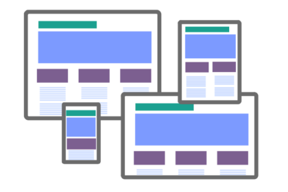 Responsive design means your website works on all types of device