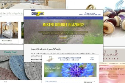 Examples of websites created by Nepeta Consulting