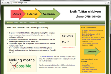 Active Tutoring Website