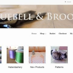 Bluebell and Brook Website image