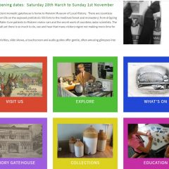 The new Malvern Museum home page