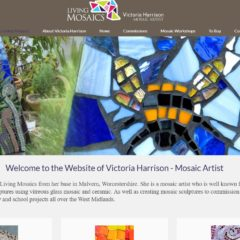 Living Mosaics website - created and hosted by Nepeta Consulting