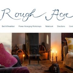 Screen shot of roughacrebandb.co.uk