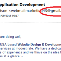 Is your email address letting you down?