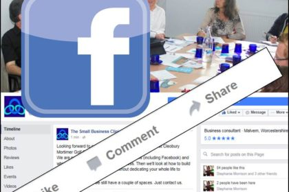 Facebbook page for the Small Business Clinic - it's connected