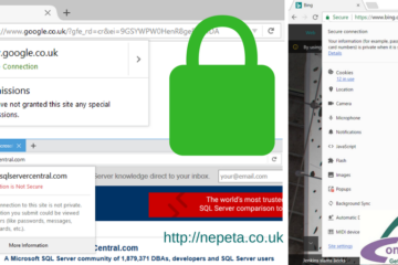 Sample https address bar s from Nepeta Consulting