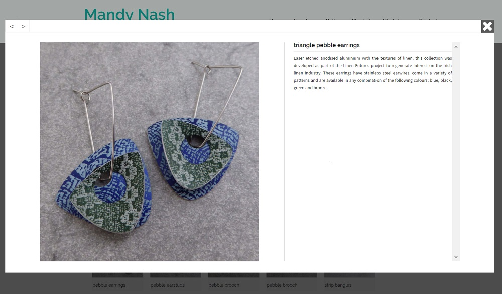 Mandy Nash Gallery pop-up - by Nepeta Consulting