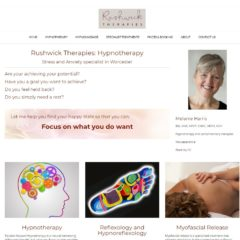 Rushwick Thereapies website - created by Nepeta Consulting