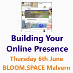 Building your online presence - A Small Business Clinic workshop in Malvern 6 June 2019