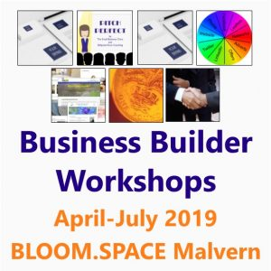 Book the Business builder series of Workshops from the Small Business Clinic April-July 2019