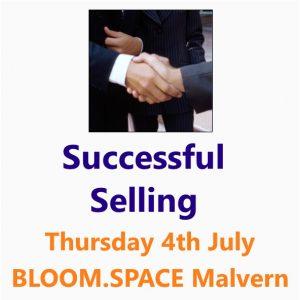 Successful Selling 04 July 2019 Malvern W