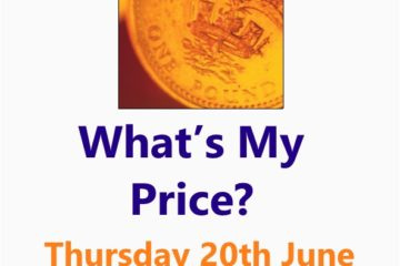 What's My Price - a Small Business workshop in Malvern 20 June 19