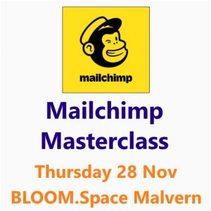 Mailchimp Masterclass 28 Nov 2019 Malvern Worcestershire - A Small Business Clinic Workshop by Nepeta Consulting