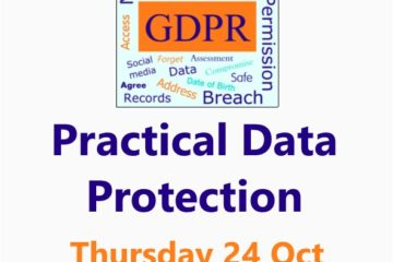 Practical Data Protection 24 October 2019 Malvern Worcestershire - a Small Business Clinic workshop by Nepeta Consulting