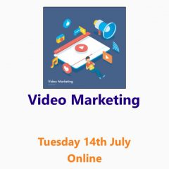 Video Marketing workshop 14th July 2020 - an online Small Business Clinic workshop by Nepeta Consulting
