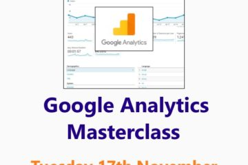 Google Analytics Masterclass: a Small Business Clinic Workshop online 17 November 2020 by Nepeta Consulting