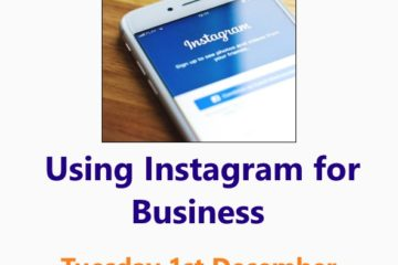 Using Instagram for Business workshop 1st December 2020 - an online Small Business Clinic workshop by Nepeta Consulting photo Photo by freestocks on Unsplash