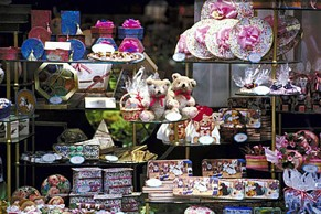 Shop front display - used to entice people inside - Nepeta Consulting