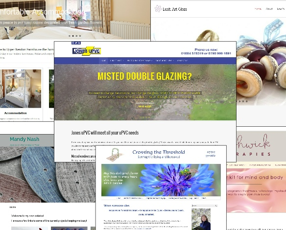 Examples of websites by Nepeta Consulting